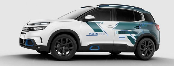 Nieuwe SUV Citroën C5 Aircross Hybrid Concept