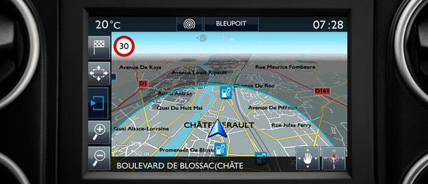 Citroën E-Berlingo Multispace: navigatie