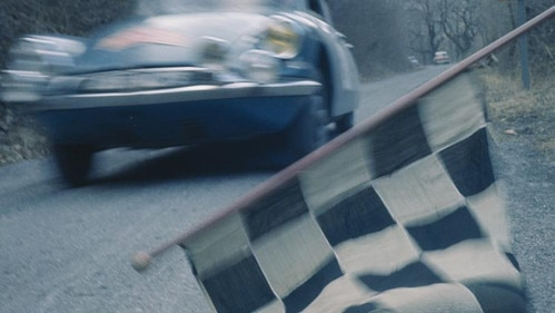 Citroën DS in de Monte Carlo Rally