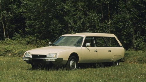 Introductie van de Citroën CX Break