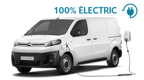 Citroën ë-Jumpy 100% ëlectric