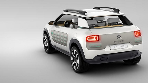 Citroën Cactus concept car - Functioneel design
