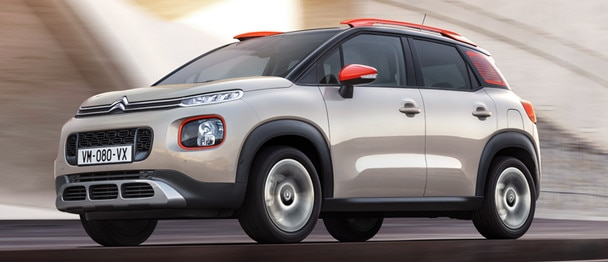 Citroën C3 Aircross: Top Rear Vision-achteruitrijcamera