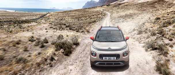 Citroën C3 Aircross: Grip Control met Hill Descent Assist