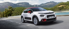 Citroën C3: Hill Start Assist